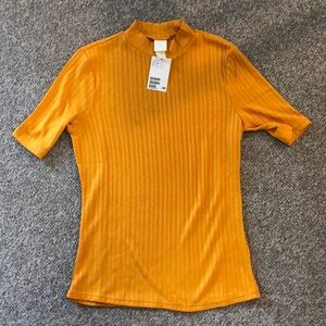 Mock neck t shirt H&M